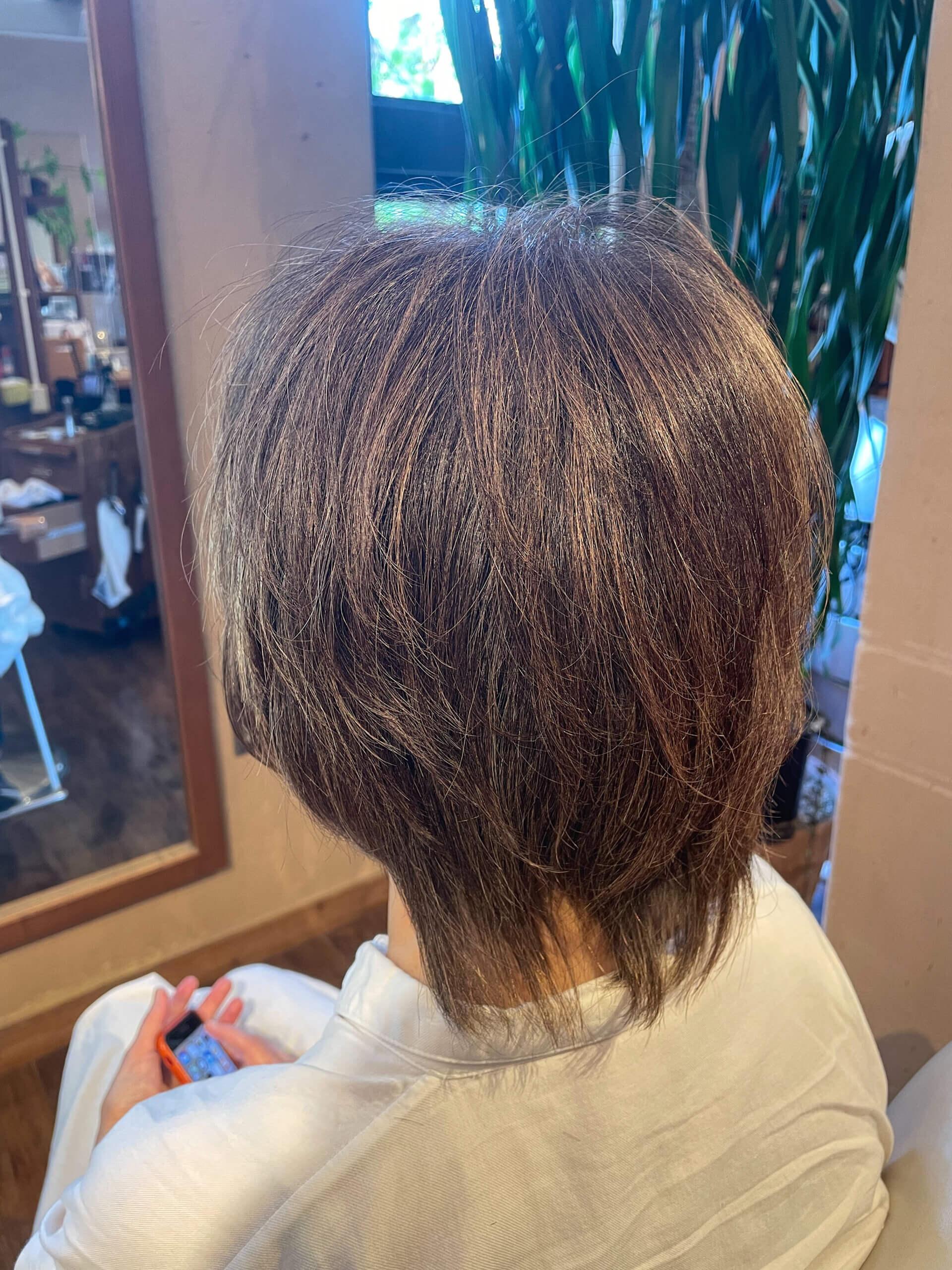 【奈良 広陵・大和高田】白髪の考え方を変える脱白髪染めハイライト!あなたはいつまでしっかり白髪を染めますか?