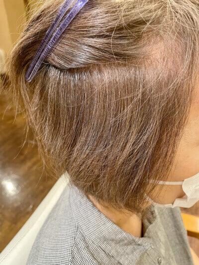 【奈良 広陵・大和高田】白髪ぼかしハイライトをしたその後は?白髪ぼかしハイライトをした2ヶ月後の写真も!